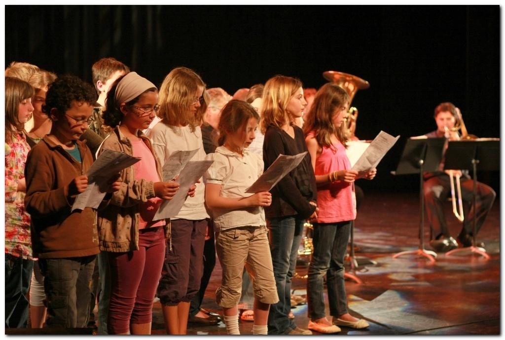 Concert pédagogique du quintette de cuivres Aeris à Ramonville