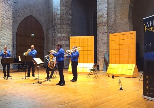 Quintette de cuivres Aerïs Toulouse, Saint-Pierre des Cuisines (31)